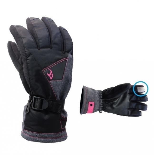 Demon Ladies Snowboard Gloves Vert Black