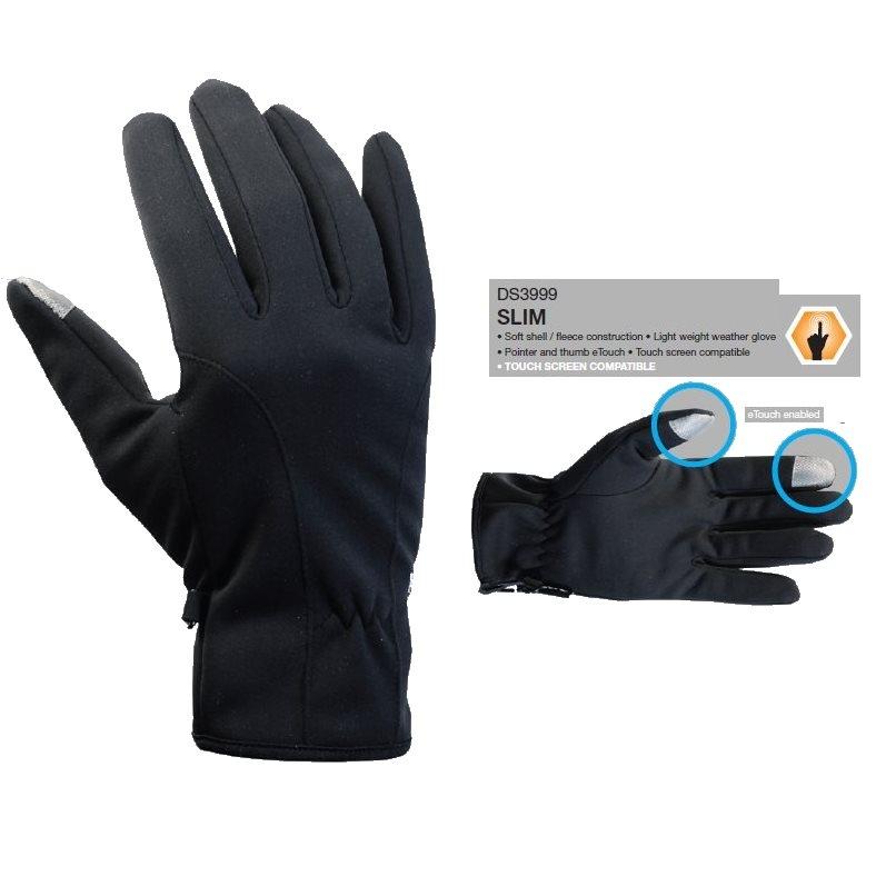 Demon Mens Slim Fleece Snowboard Gloves