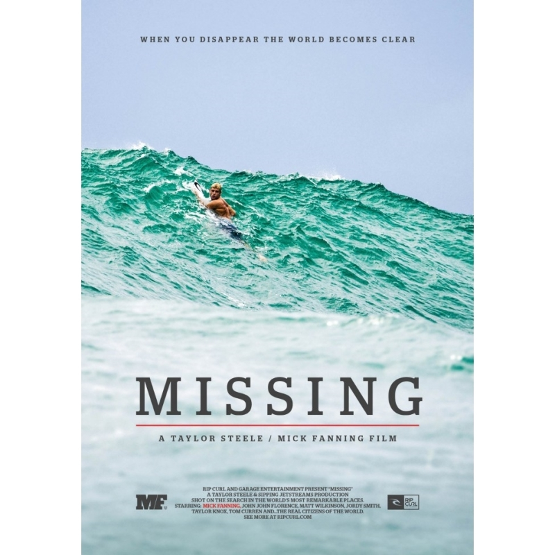 Mick Fanning Missing Surf DVD
