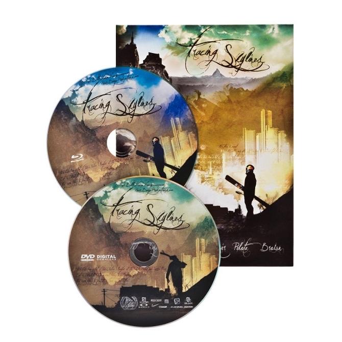 Tracing Skylines Ski DVD and Blu-Ray twin pack