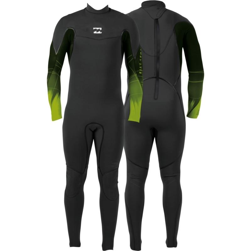 Billabong 4/3 Xero Revolution Wetsuit Back Zip