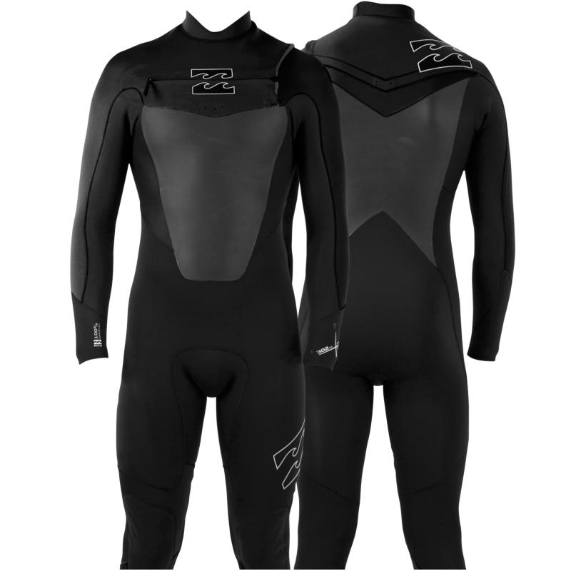 Billabong 4/3 Mens Foil Wetsuit Chest Zip GBS 8001