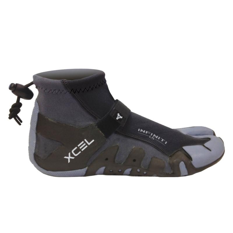 Xcel 1mm Wetsuit Reef Boots Spilt Toe
