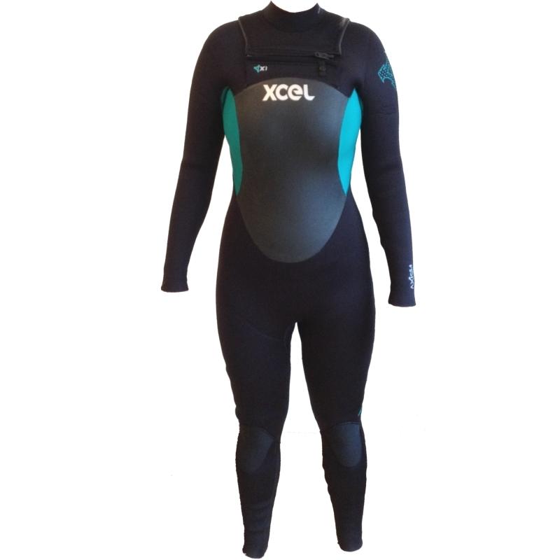 Xcel 5/4mm Ladies Axis X1 Wetsuit Chest Zip