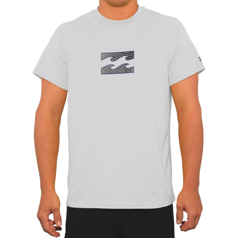 Billabong Amphibious SS White Surf T Shirt