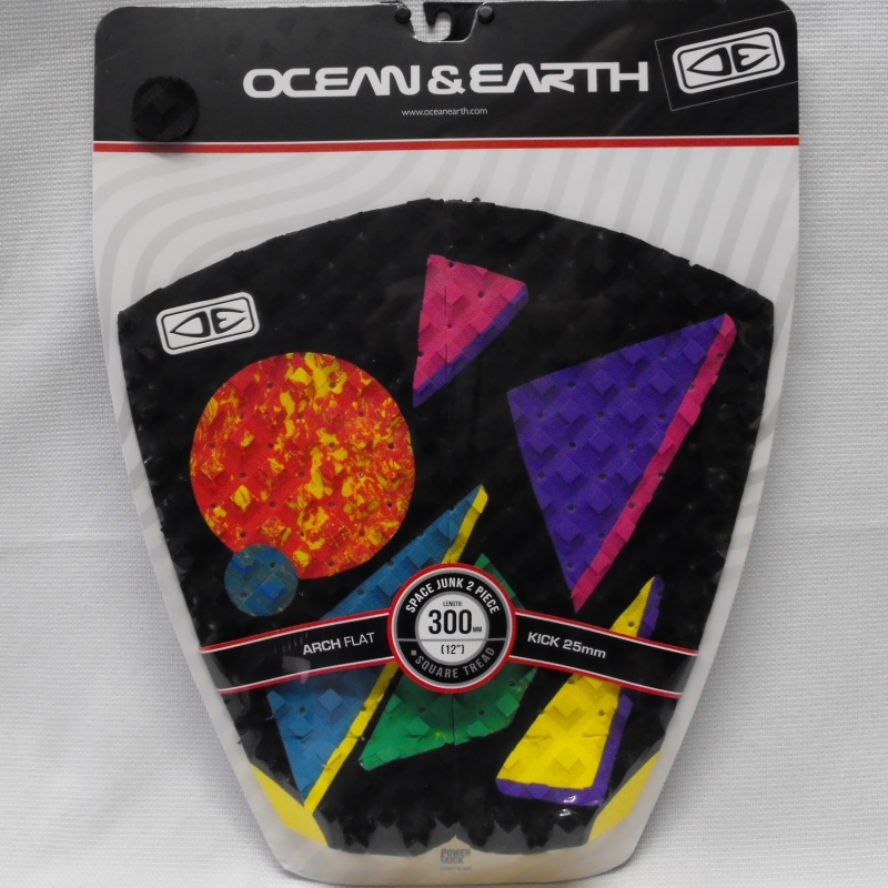 Ocean and Earth Space Junk Surfboard Tail Pad