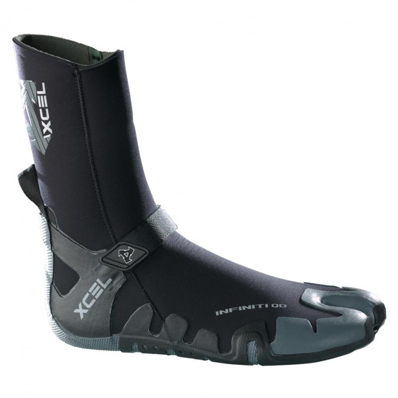 Xcel 3mm Infiniti QD Split Toe Wetsuit Boots