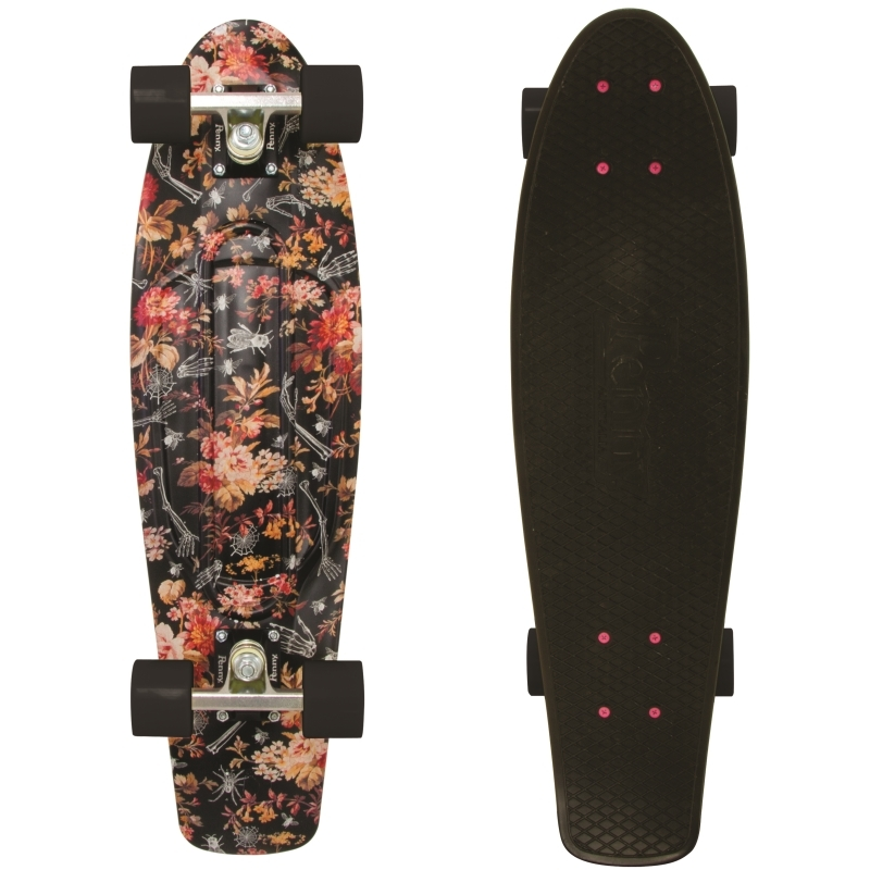 2b14526215 Penny Nickel Skateboard 27 Inch Floral Board