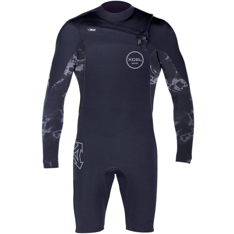 Xcel 2mm Infiniti Comp Long Sleeved Springsuit Wetsuit