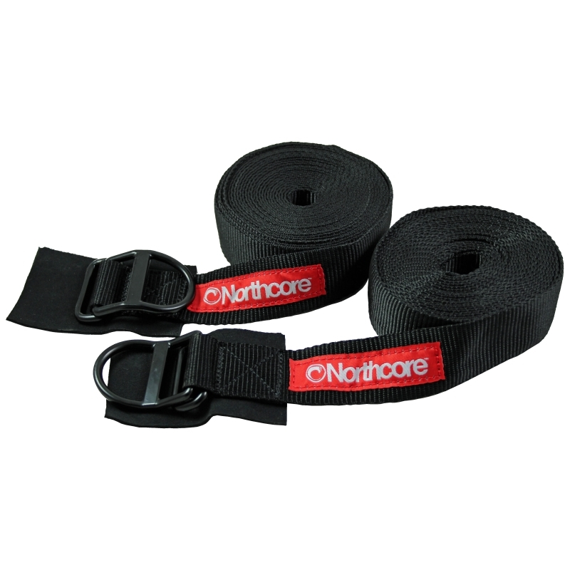 Northcore Surfboard D Ring Tie Down Straps 5 Metres