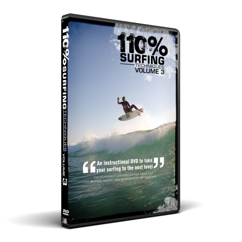 110% Surfing Techniques Volume 3 Surf DVD
