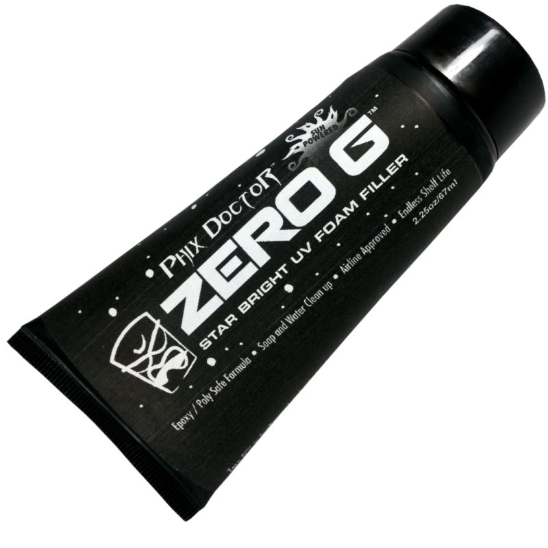 Phix Doctor Zero G UV Foam Filler Surfboard Ding Repair