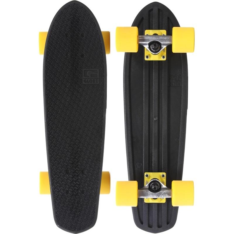 Globe Bantam Mash Ups Skateboard 24inch Black Yellow