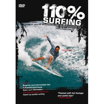 110% Surfing Techniques Instructional Surfing DVD