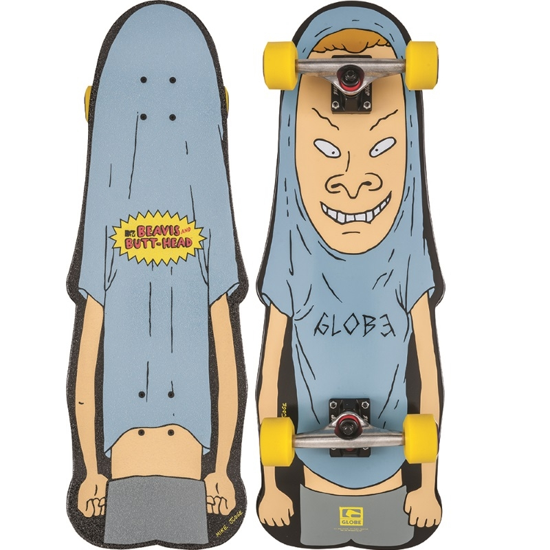 Globe Beavis Skateboard 10 25 Blue