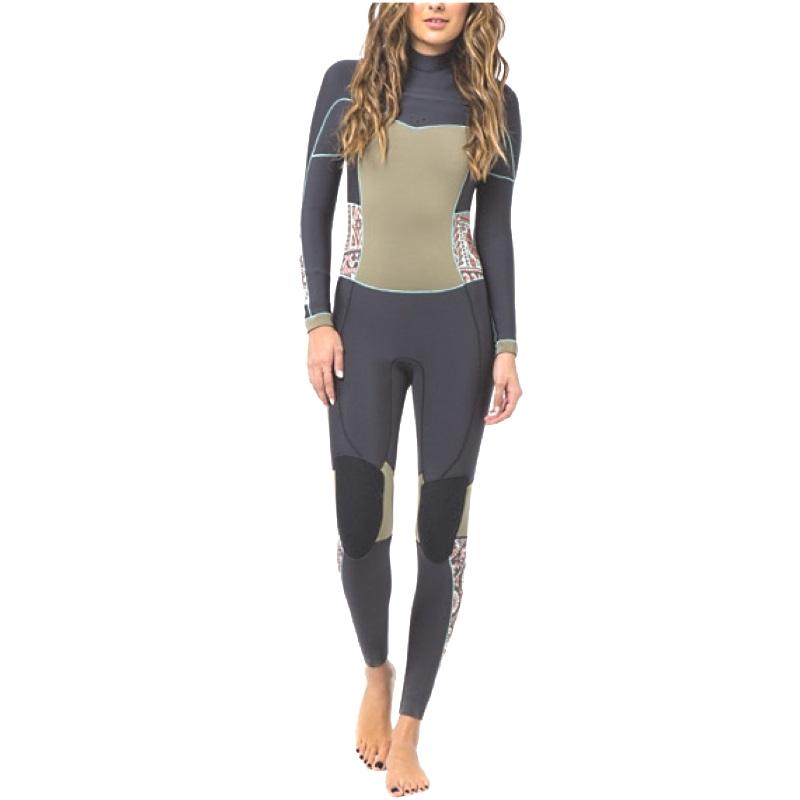 Billabong 5/4mm Womens Salty Dayz Steamer Wetsuit Black Multi