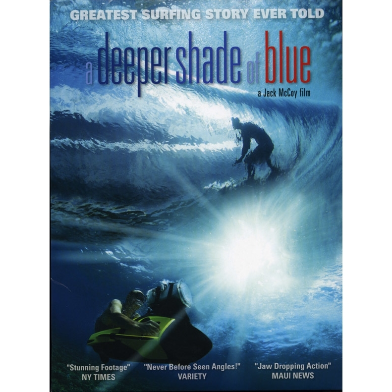 A Deeper Shade of Blue DVD By Jack McCoy