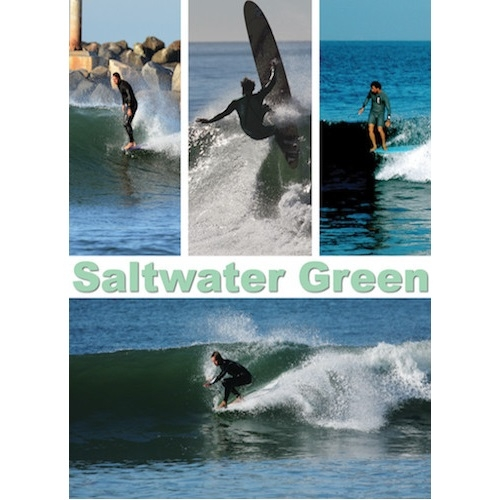 Saltwater Green Surf DVD
