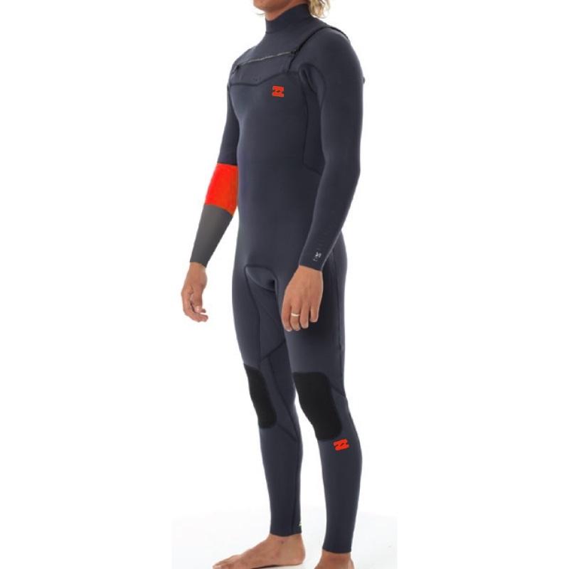 Billabong 5/4 Revolution Recycler Wetsuit Chest Zip - Graphite