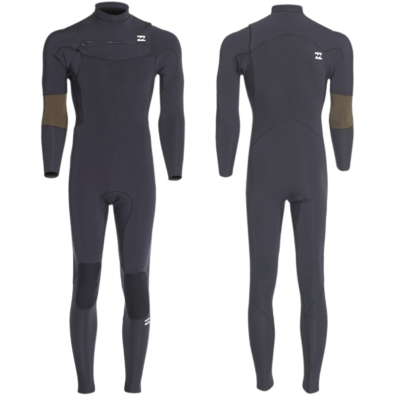Billabong 5/4 Revolution Recycler Wetsuit Chest Zip - Black