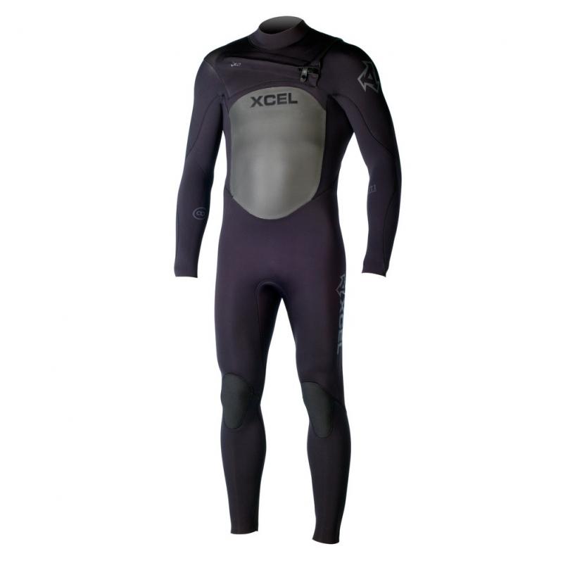 Xcel 5/4mm Infiniti TDC Wetsuit X2 Chest Zip Black
