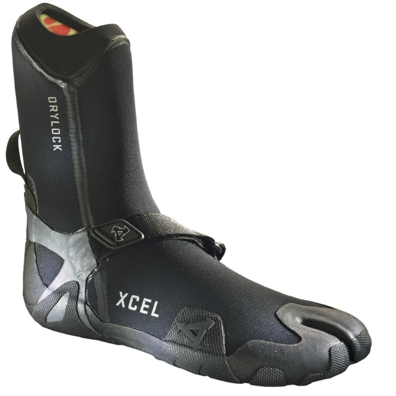 Xcel 5mm Drylock TDC Split Toe Wetsuit Boots