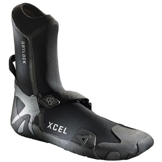 Xcel Drylock TDC Round Toe Wetsuit Boots 7mm