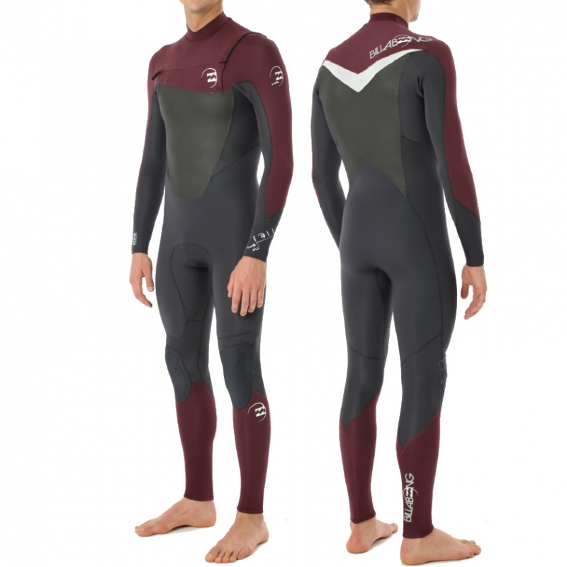 Billabong 5/4 Mens Foil Wetsuit Chest Zip GBS 0042