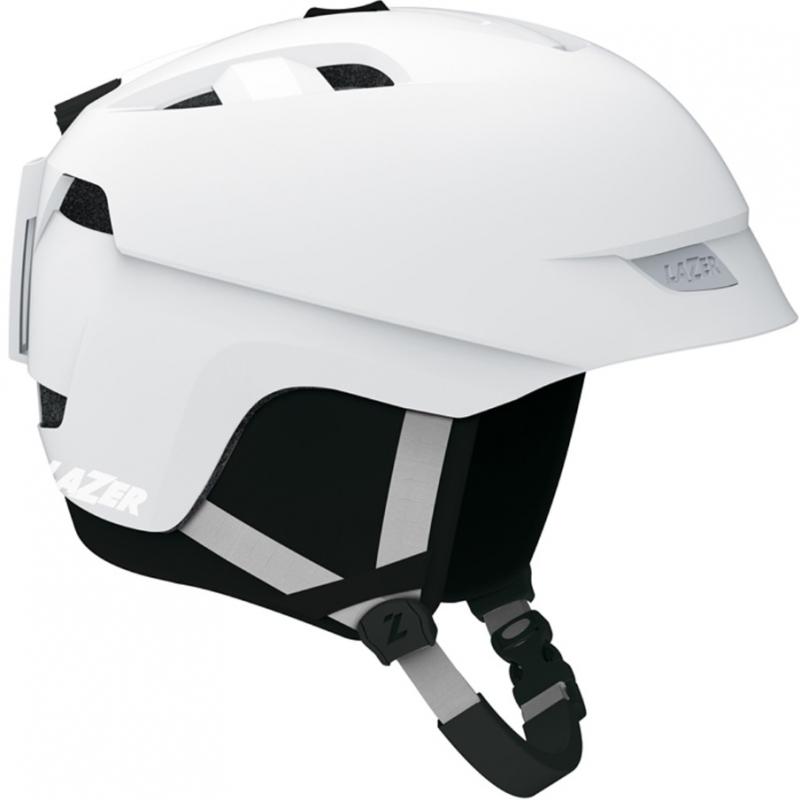 Lazer Effect Mens Ski Snowboard Helmet Matt White