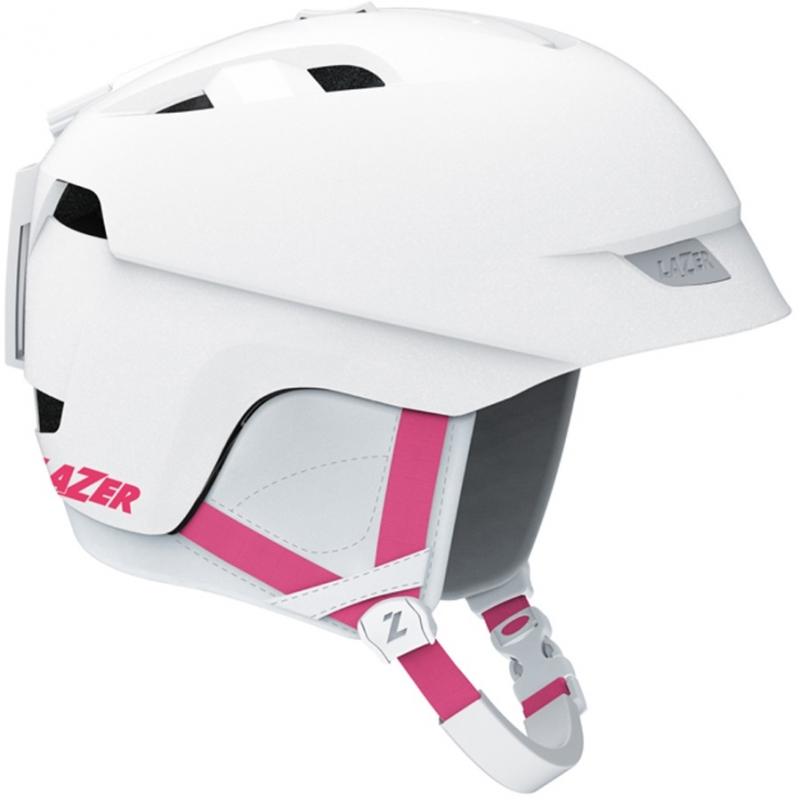 Lazer Lexi Womens Ski Snowboard Helmet White Pink