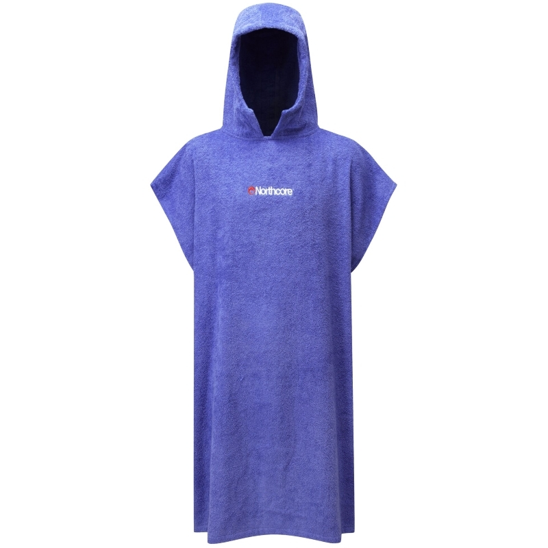 Northcore Beach Basha Changing Robe Blue