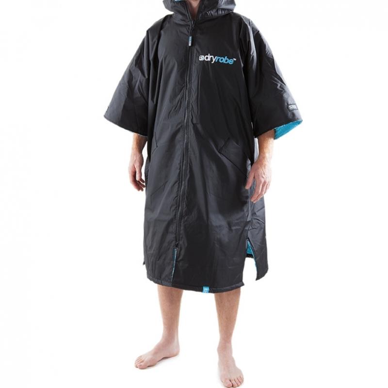 Dryrobe Advance Beach Changing Robe Black Blue