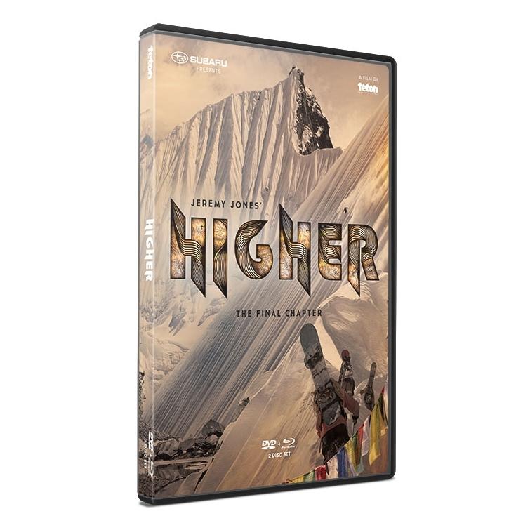 Jeremy Jones Higher DVD and BluRay 2 Disc Set