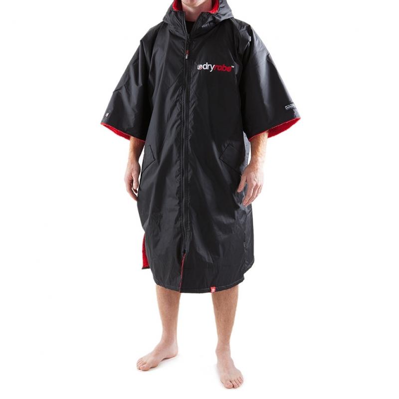 Dryrobe Advance Beach Changing Robe Black Red