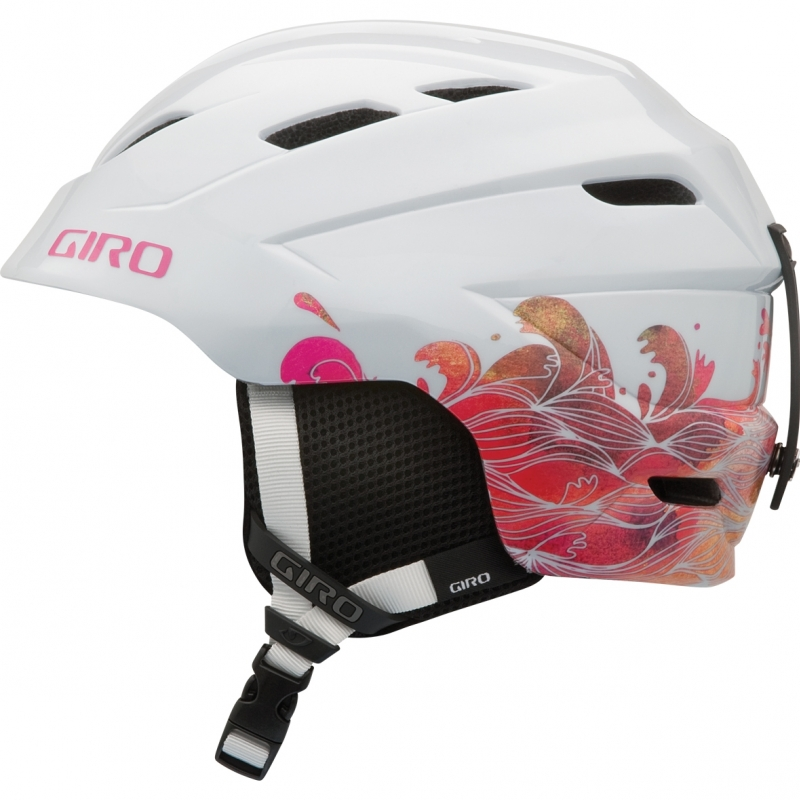 Giro Nine10 Girls Ski Snowboard Helmet White Stormy Sea