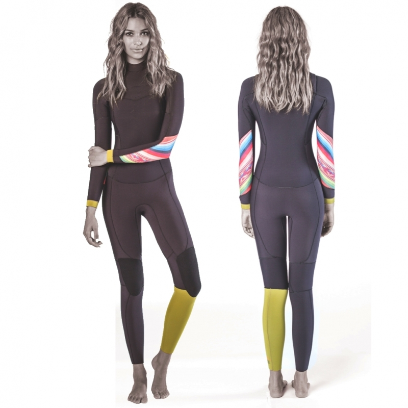 Billabong 5/4mm Womens Salty Dayz Steamer Wetsuit  Multi