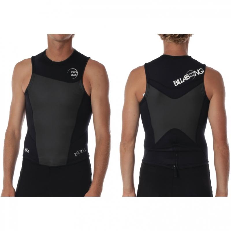 Billabong 2mm Mens Foil Wetsuit Vest 2015