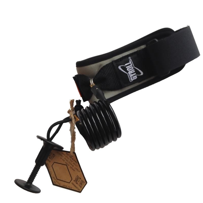 Science Gyroll Bodyboard Bicep Leash Black