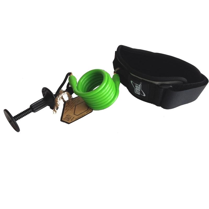 Science Gyroll Bodyboard Bicep Leash Lime