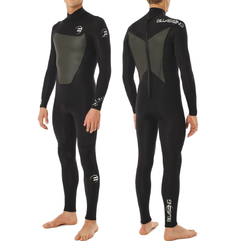 Billabong 3/2 mm Mens Foil Wetsuit Black