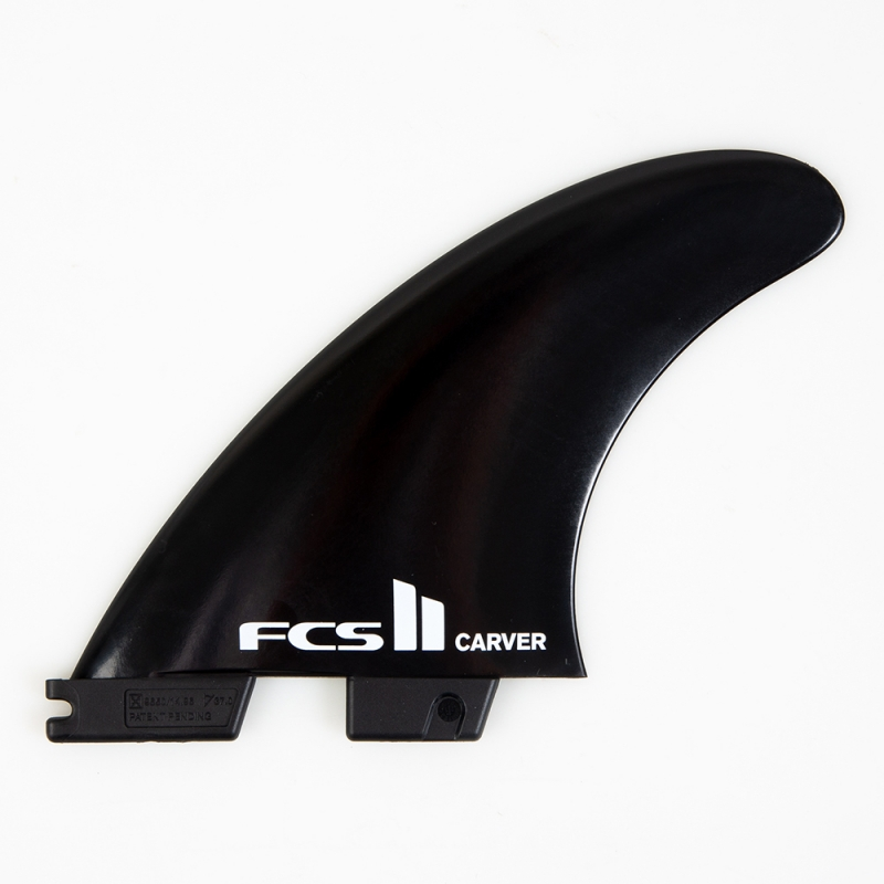 FCS II Carver Glass Flex Thruster Surfboard Fins Medium
