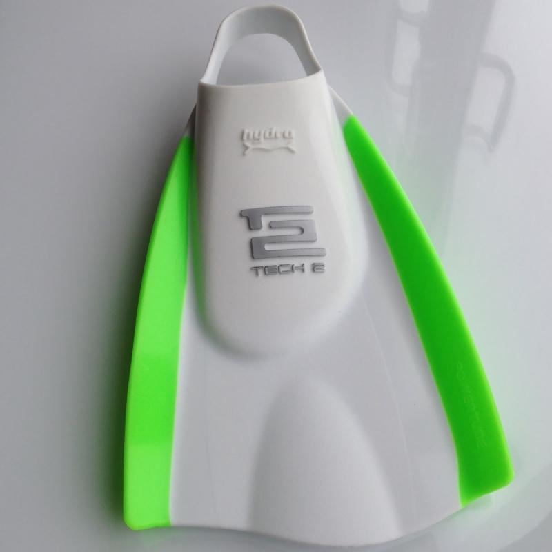 Hydro Tech2 Swim Fins White Green