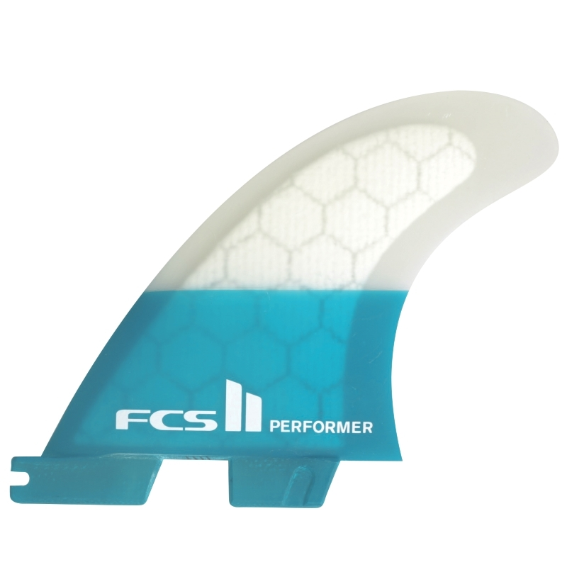 FCS II Performer PC Thruster Surfboard Fins Large