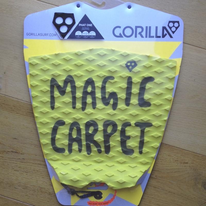 Gorilla Phat One Surfboard Tail Pad Yellow Magic Carpet