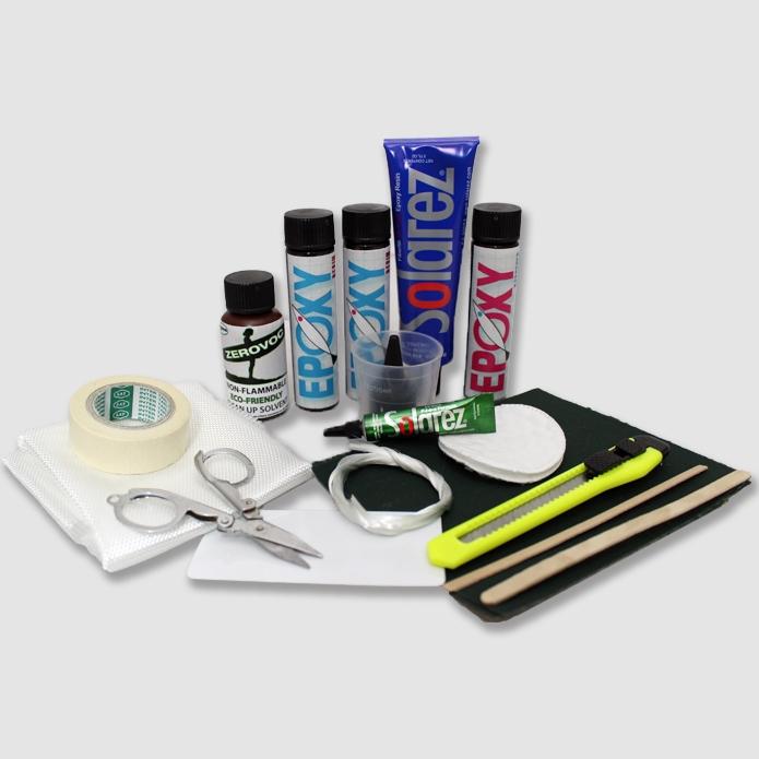 ocean earth fibreglass repair kit instructions