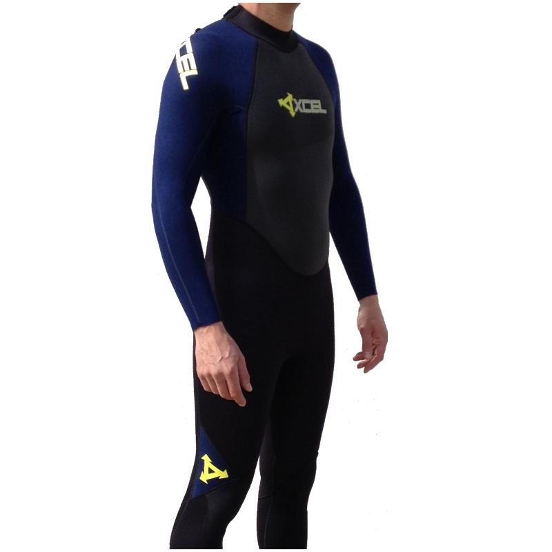 Xcel 3/2mm GCS Mens Wetsuit Ink Blue