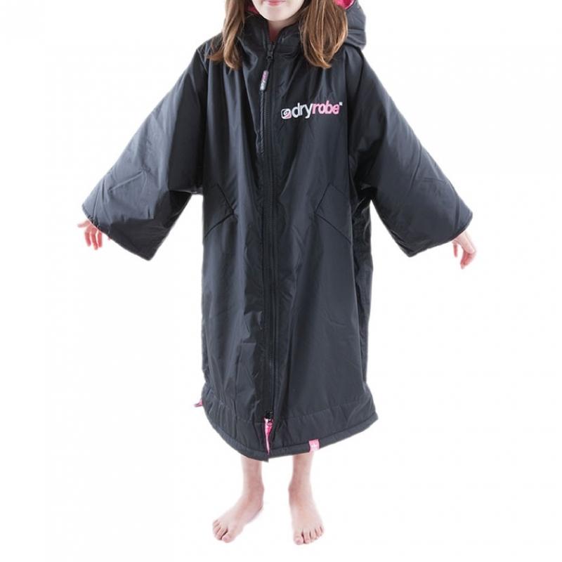 Dryrobe Advance Small Robe Black Pink