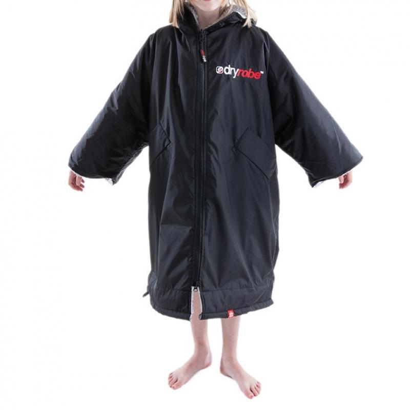 Dryrobe Advance Small Robe Black Grey
