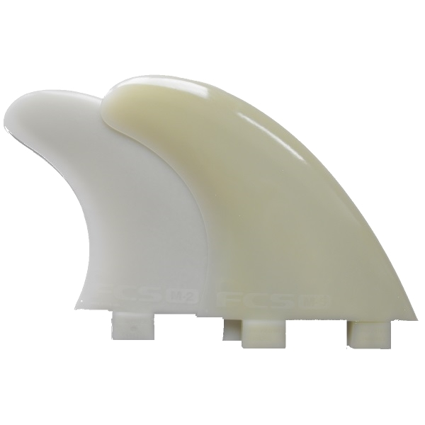 FCS Q51000C Quad Surfboard Fins - Glass Flex
