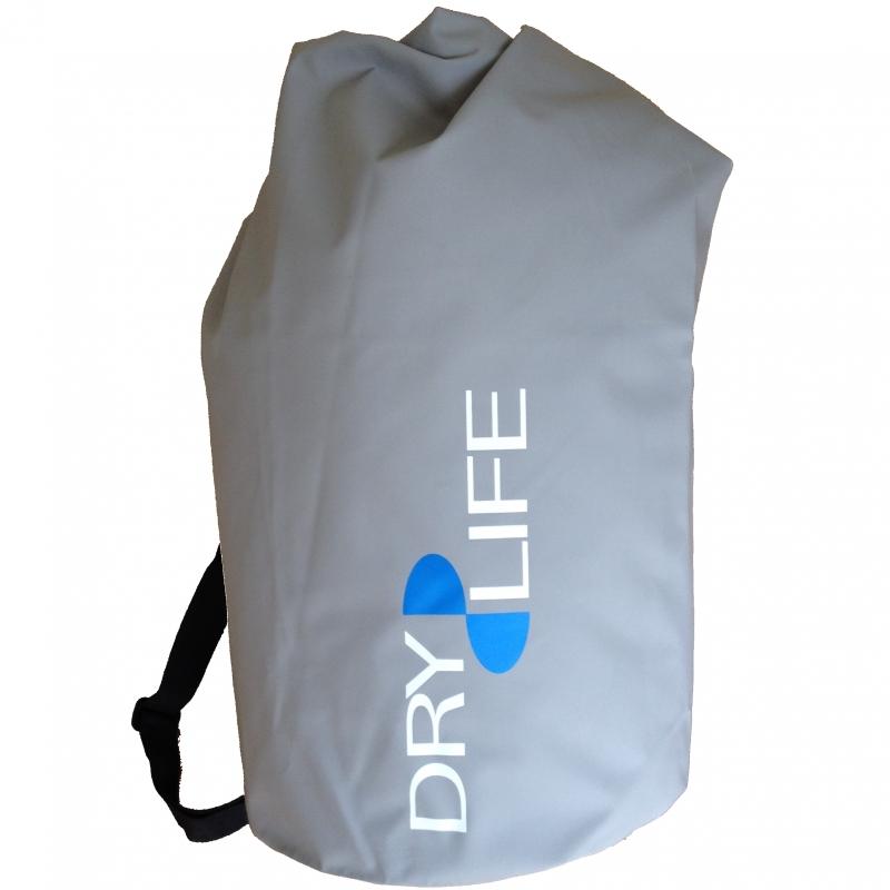 Dry Life 60 Litre Waterproof Tube Bag Grey